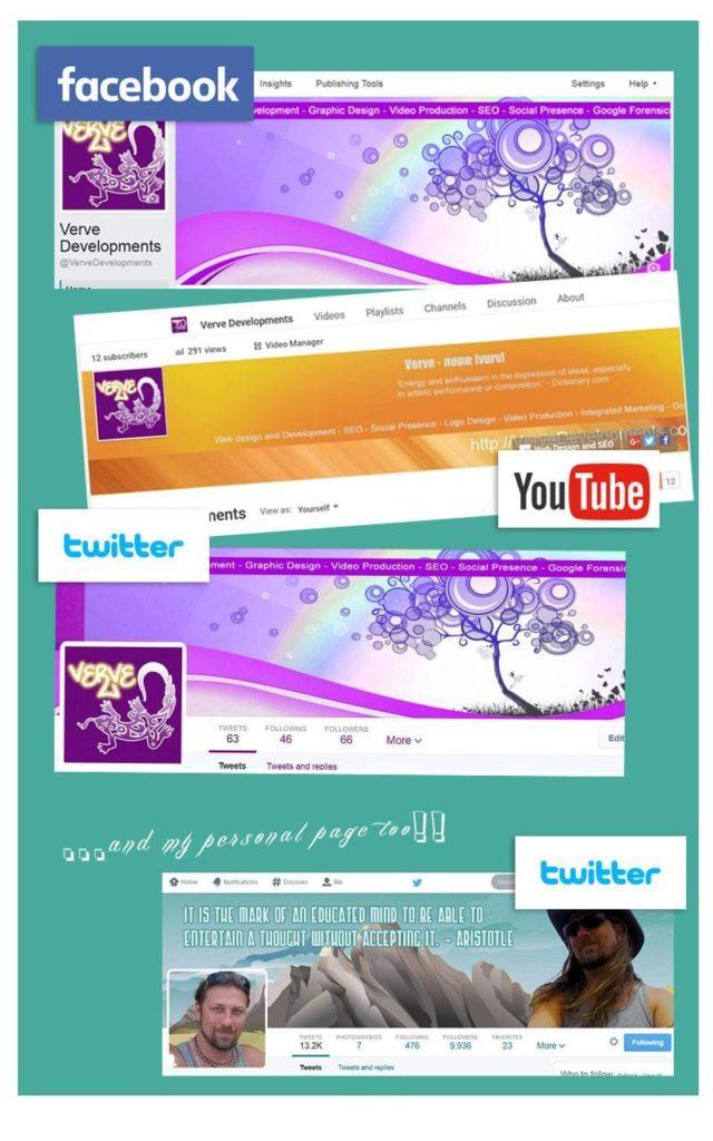 Social Media Profile Design
